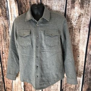 American Rag Jacket Faux Suede Trim M